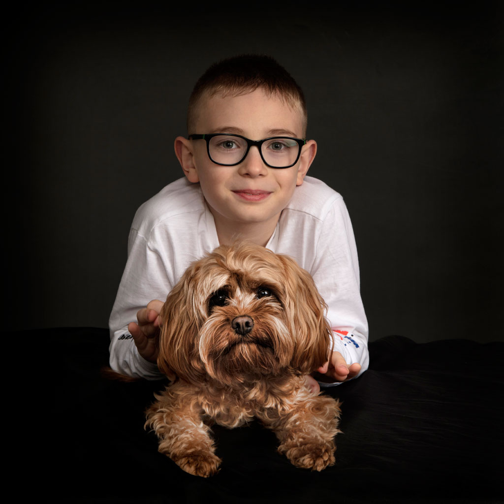 Kids & Dog Photography Leicester